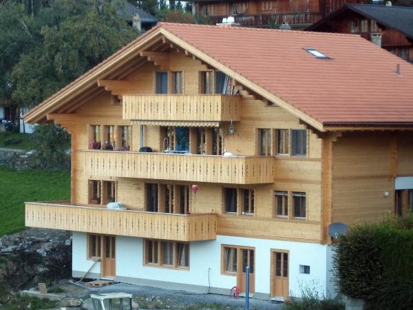 News christian und werner von bergen ag for Holzchalet bauen
